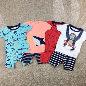 Carter's Boy's Pajama Bundle